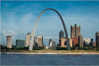 image of St. Louis skyline